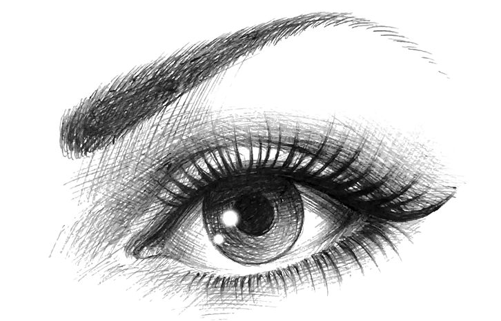 Draw Realistic Eye Cheat Sheet Drawing Made Easy Drawings In