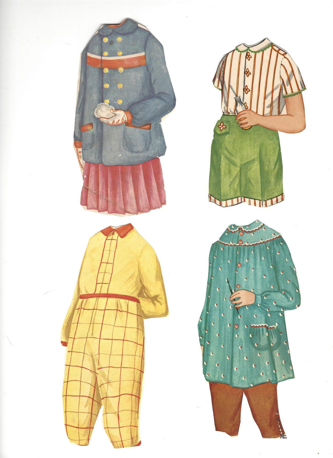 Vintage 1958 Magic Mary Ann Paper Doll Set Cut | eBay