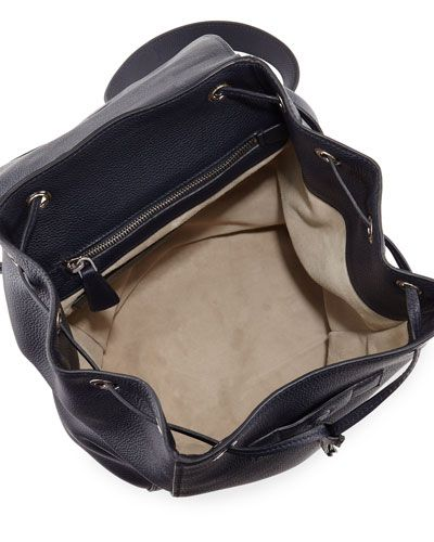 b6ad31067626 $2390.00 V30P6 Prada Vitello Daino Backpack, Dark Blue (Baltico ...