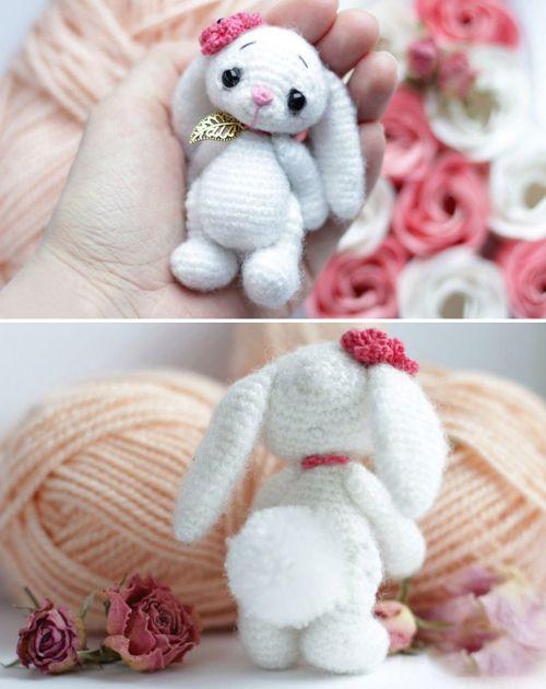 Little Crochet Bunny - Free Pattern (Beautiful Skills - Crochet ...