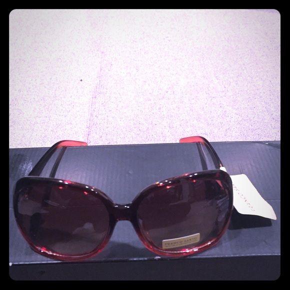 408790a95286 Franco Sarto Sunglasses Black and red plastic frame. Franco Sarto  Accessories Glasses