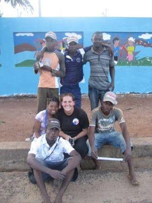 Margaret In Mozambique