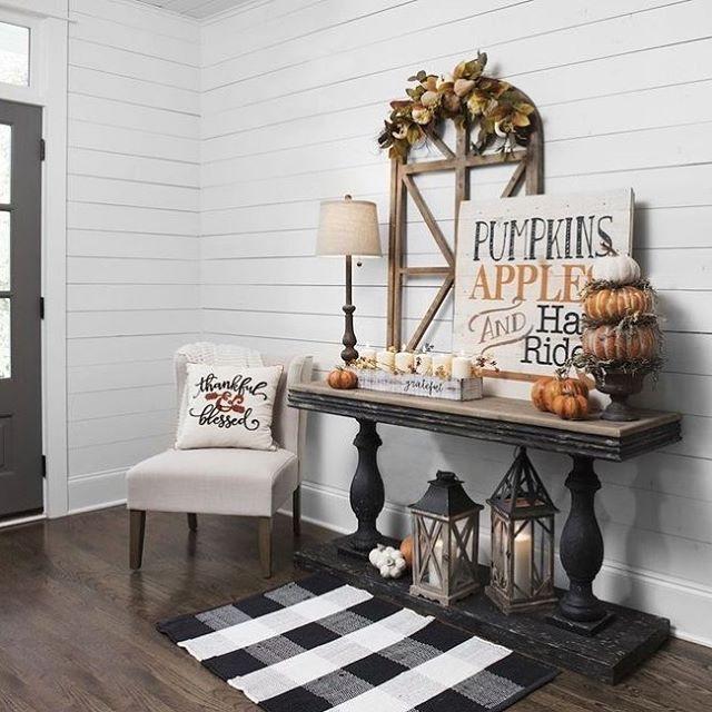34 Beautiful Fall Home Decor Ideas Halloween Home Decor Ideas