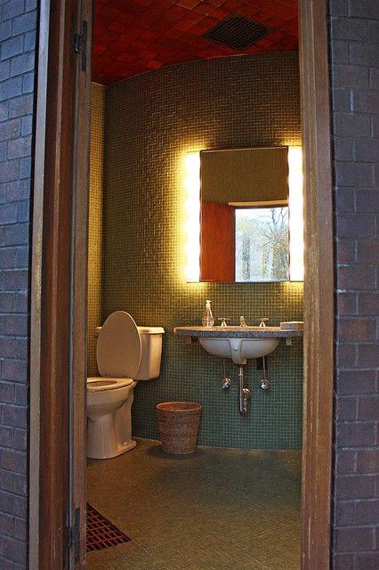 Glass House Bathroom Glass House House Bathroom Bathroom Mirror