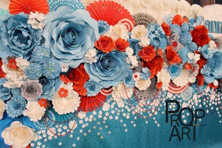 Ideas para decorar con flores de papel 4 - Decorar con papel ...