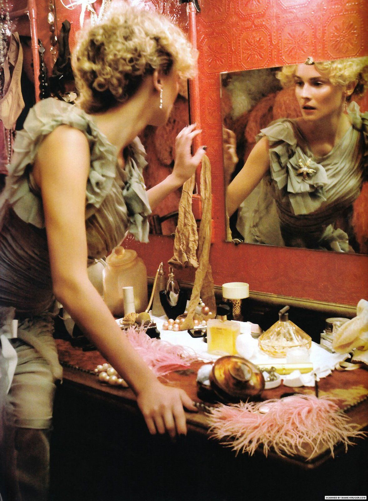 Diane Kruger in Vogue Italia
