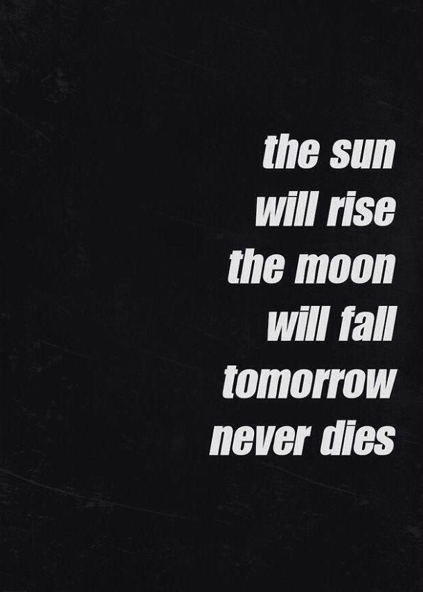 Tomorrow Never Dies 5 Seconds Of Summer 5sos Lyrics 5sos Lyrics