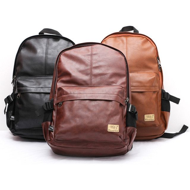 Designer Leather Backpack compliment any outfit. Adds a level of sophistication to anyone carrying it!