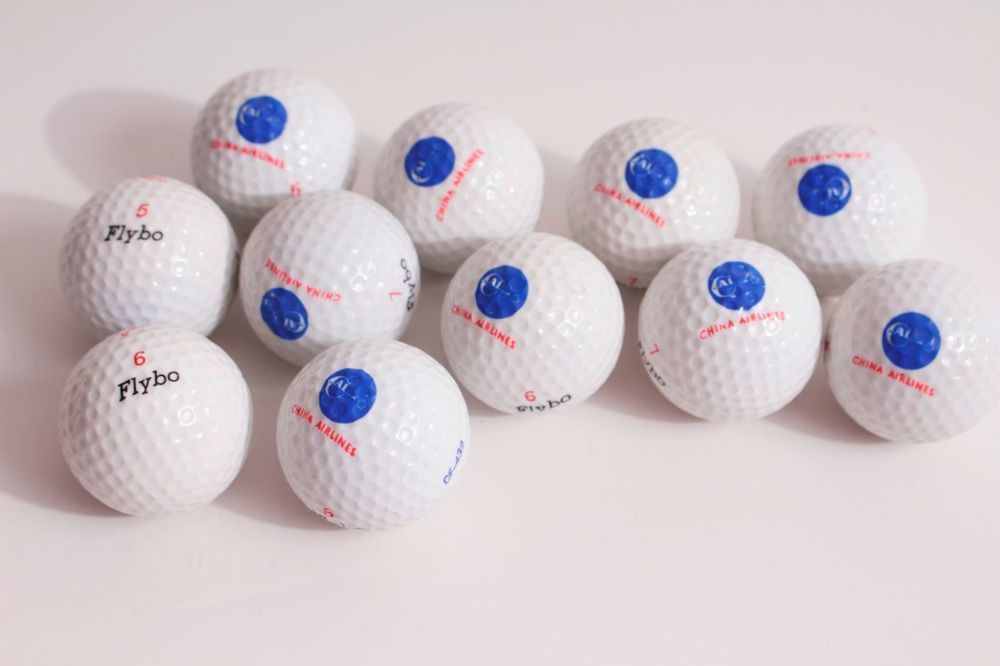 Golf Ball - China Airlines (CI) with old logo - Vintage,Collectible,CAL