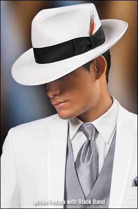 84064b20ff39d Fedora hat available to order at Wedding Treasures Bridal   Tuxedo ...