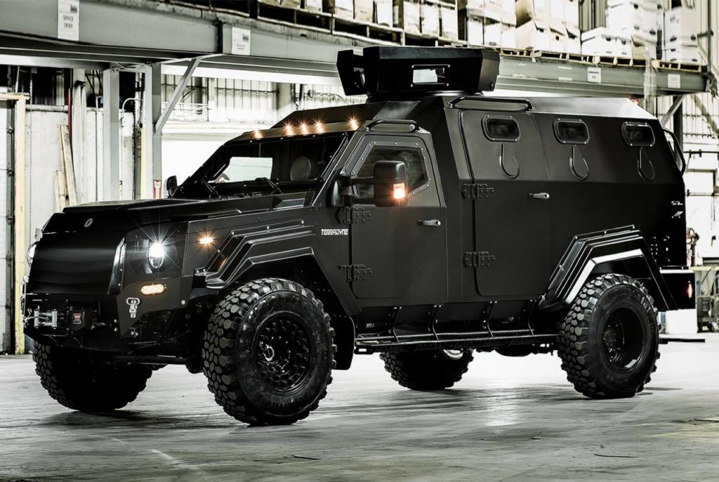 Terradyne Gurkha Armored MPV | Armored vehicles, Armored truck ...