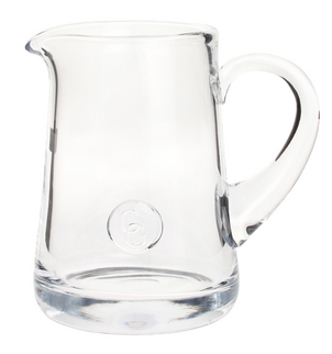 serve up some sangria in this large carafe!