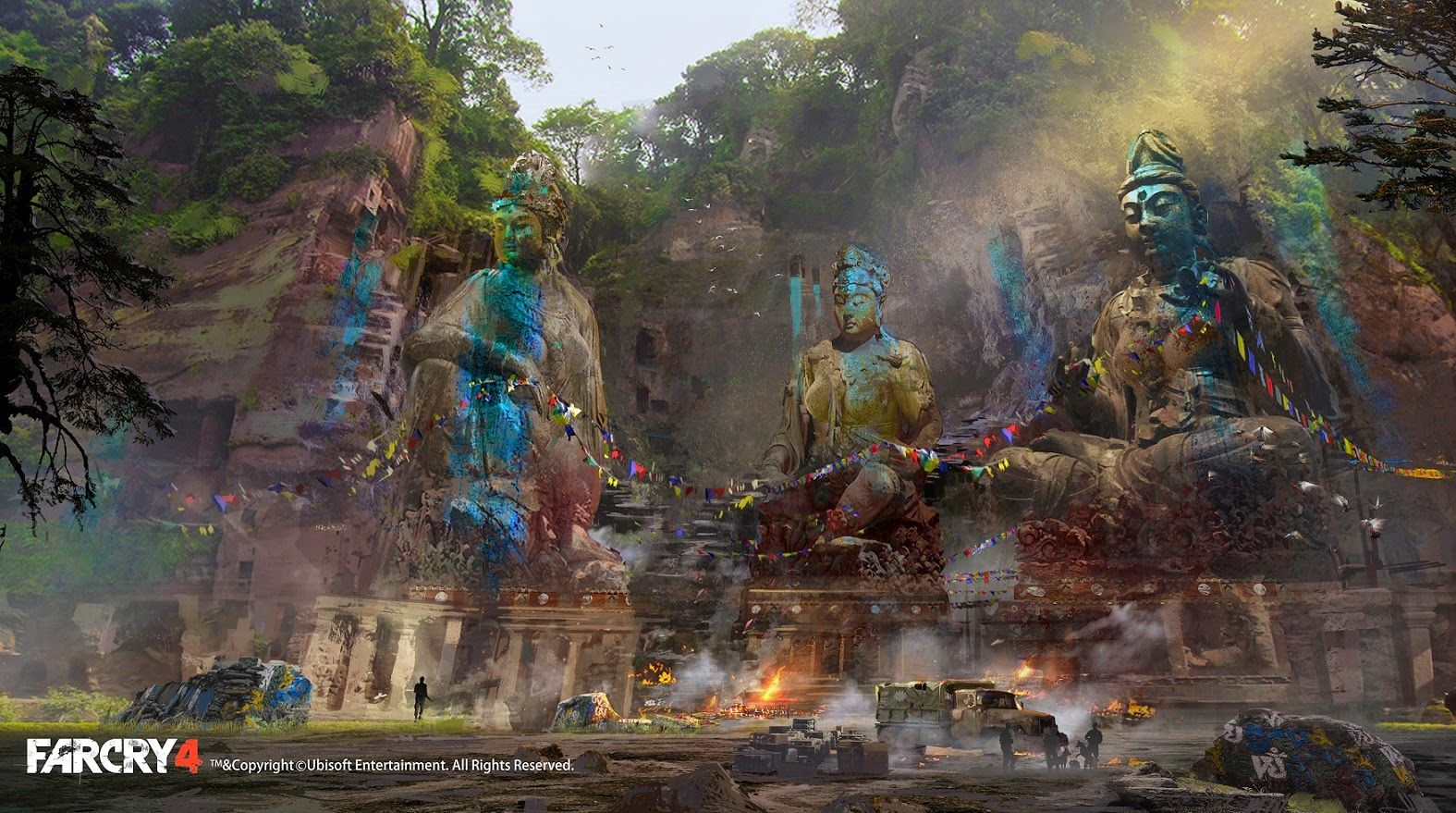 The Beautiful Art Of Far Cry 4 Concept Art World Environment Concept Art Game Concept Art