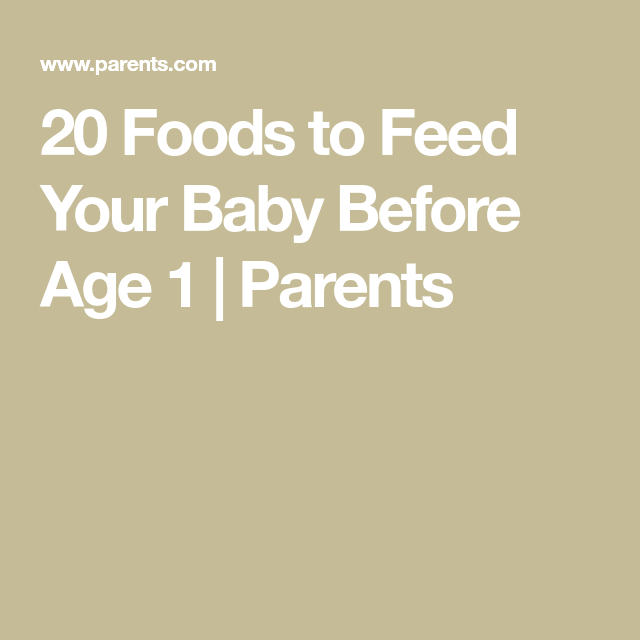 Introducing Baby Food? Here Are 20 Things To Feed Your