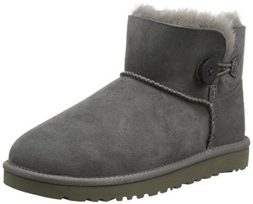 Ugg Australia Mini Bailey Button, Mädchen Stiefel - http://on-line