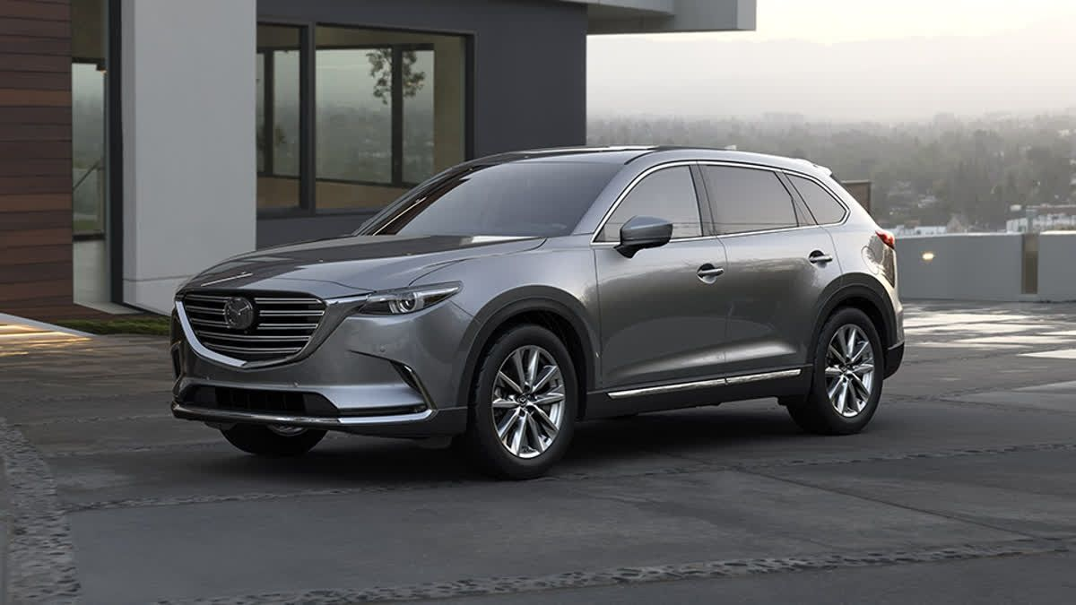 """The Mazda CX9's """"get up and go"""" peaks out at a low 2000"""