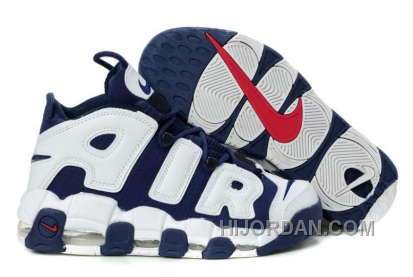 a6107a6ad5d2 Nike Air More Uptempo Scottie Pippen Shoes Black Pdrk4 in 2019 ...