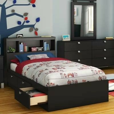 Pin By Prtyblk1 On Boys Bedroom Bed With Drawers Bed Frame With