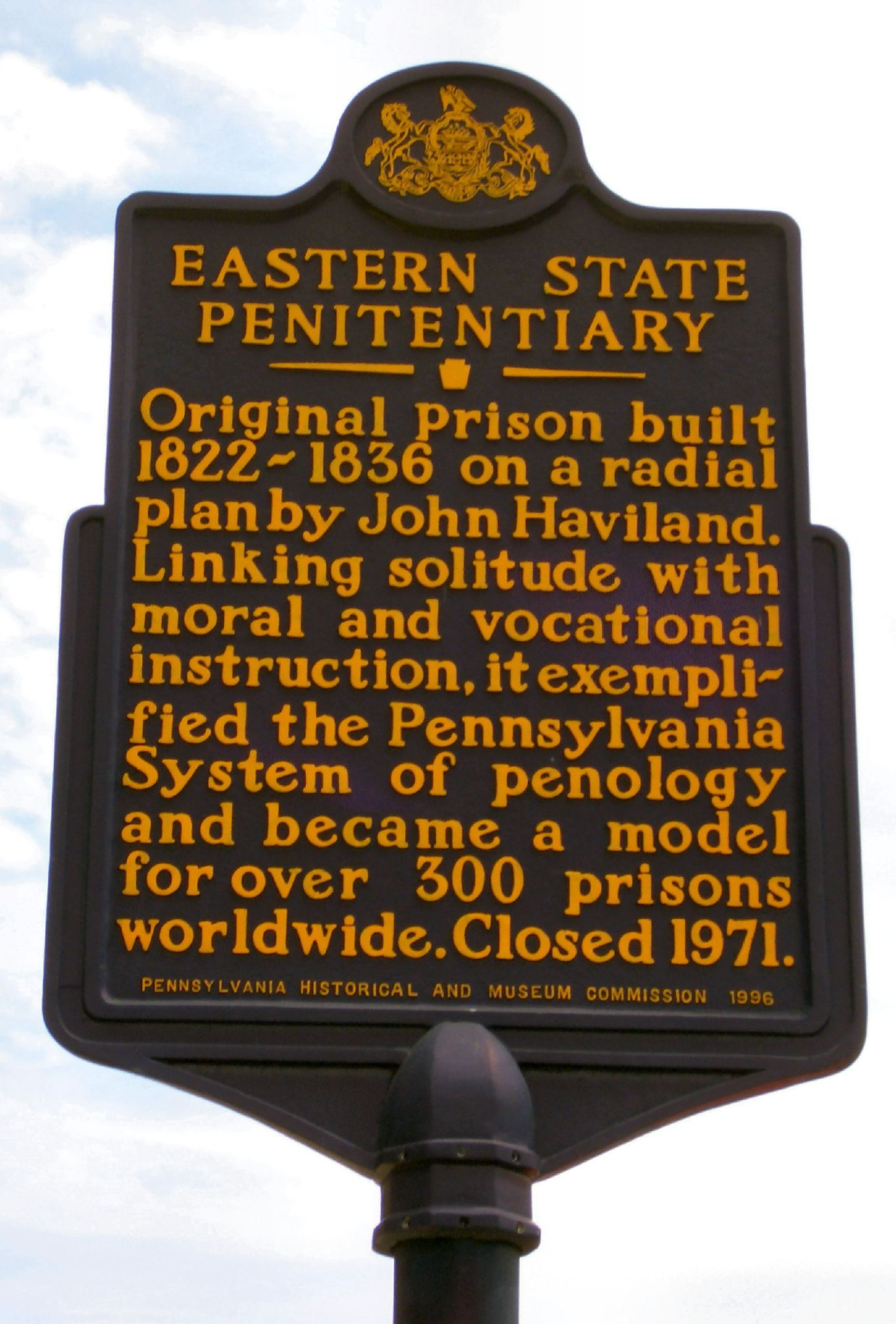 This Penitentiary Is In Philly Great Place To Visit And Take A
