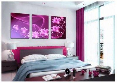 cuadros para cuartos habitaciones modernas juveniles   Design DECOR ...