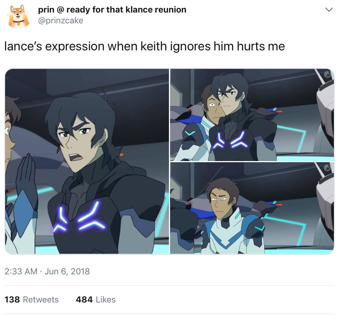 Keith is identified by his dismissal of Lance