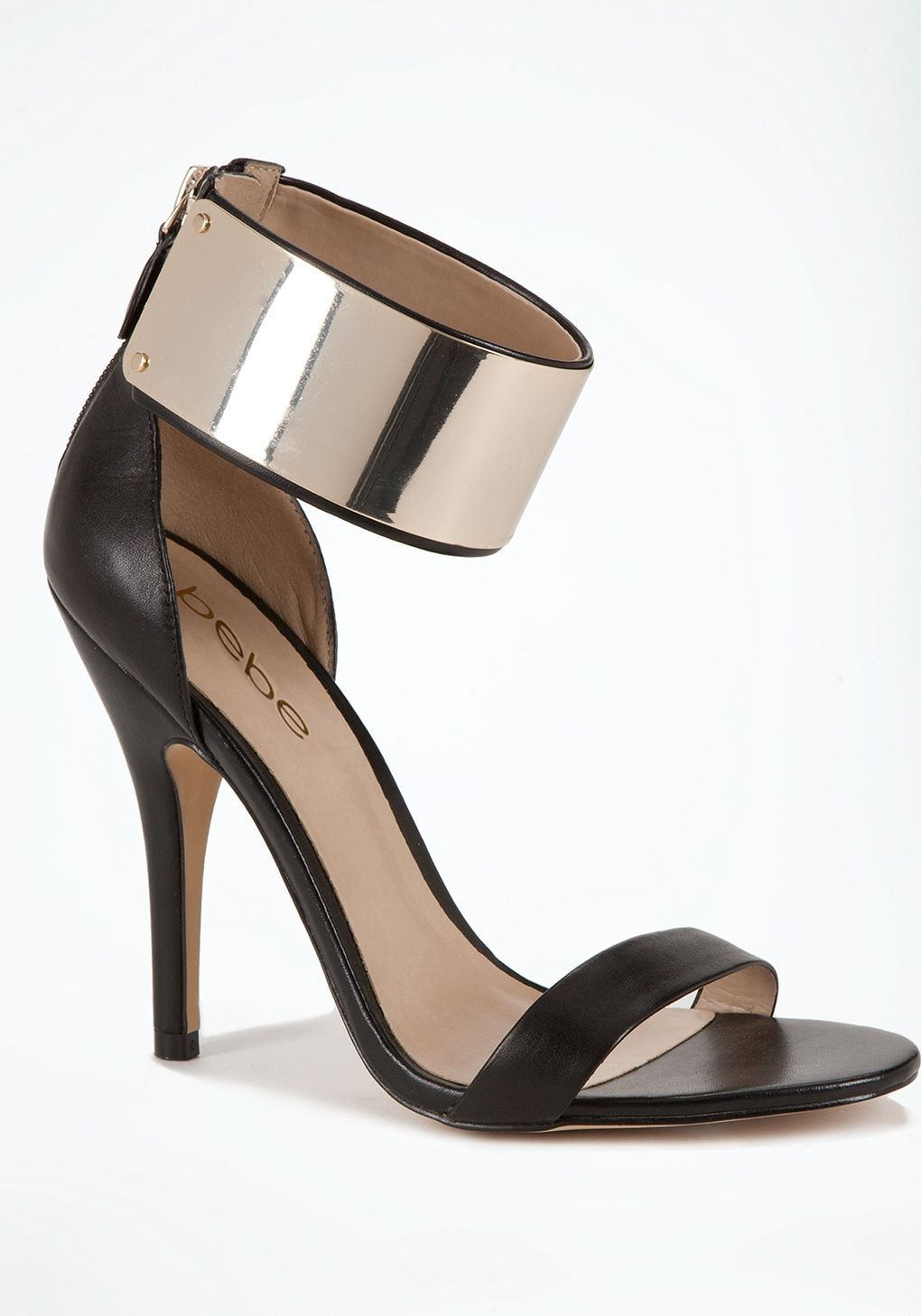 ad5343a4e43 This bebe Jacqueline Metal Cuff Sandal is going fast!