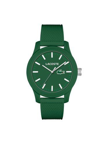 184d4c23ba Montre LACOSTE.12.12 sur bracelet silicone   Green Envy ...