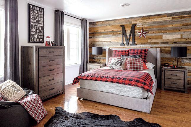 Une maison champ tre de style anglais chambre coucher pinterest - Chambre a coucher champetre ...