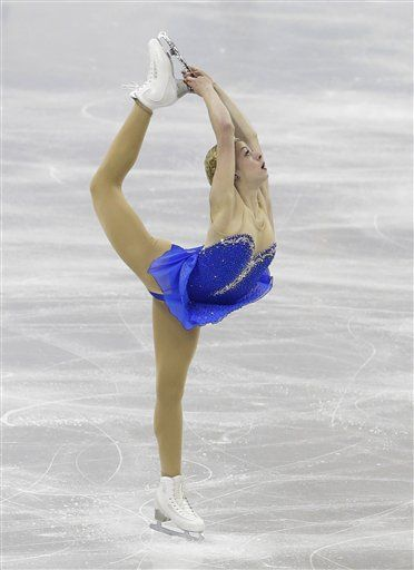 Gracie Gold doing the ...
