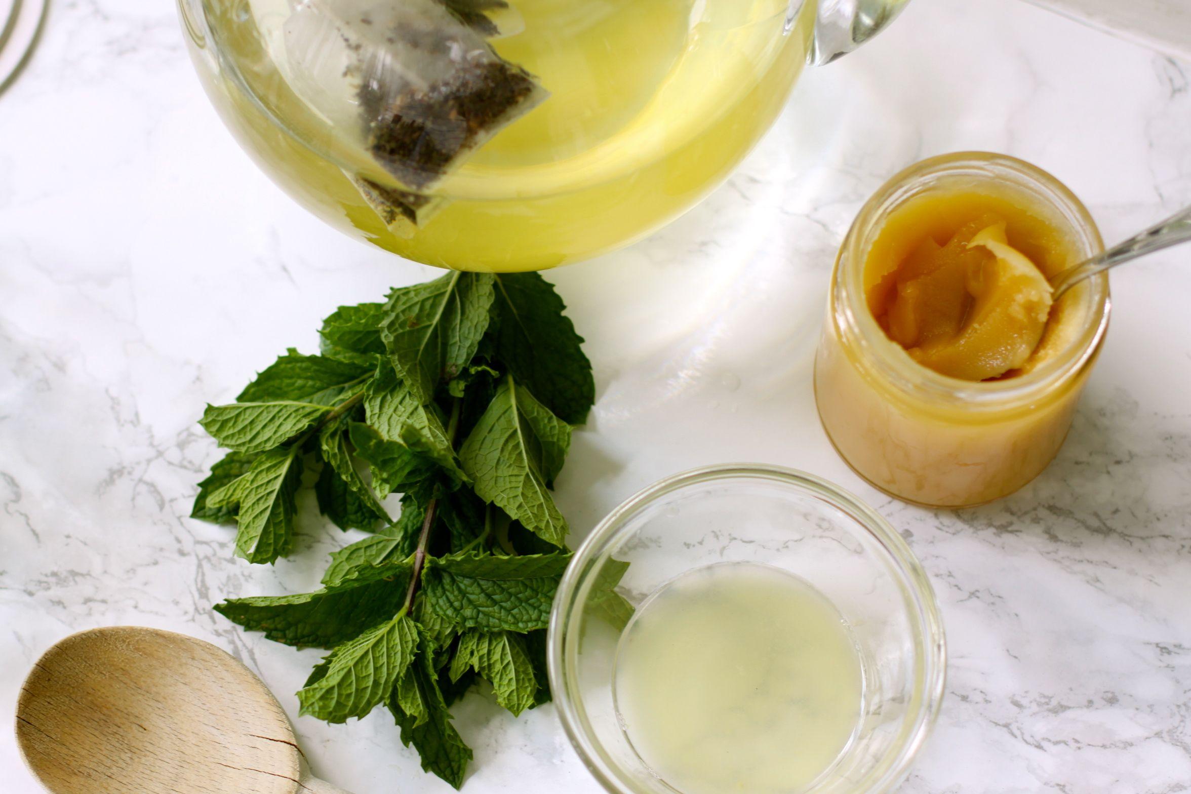 Love of Home   My Green Tea Recipe