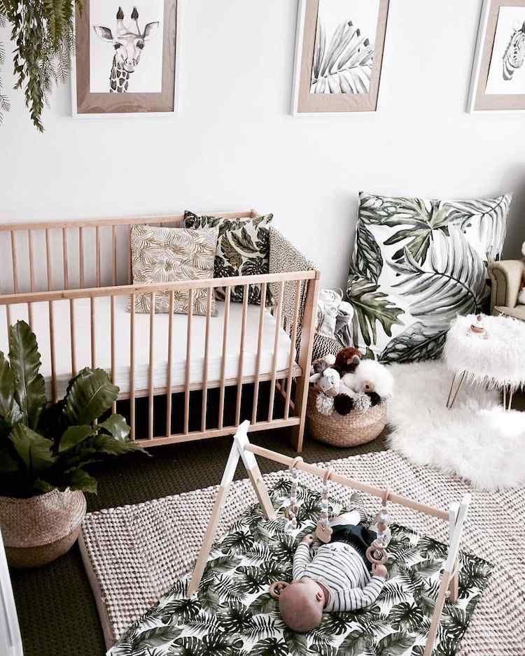 Quelles plantes dans la chambre d enfant pour allier esth tique et confort chambre enfant - Plante dans la chambre ...