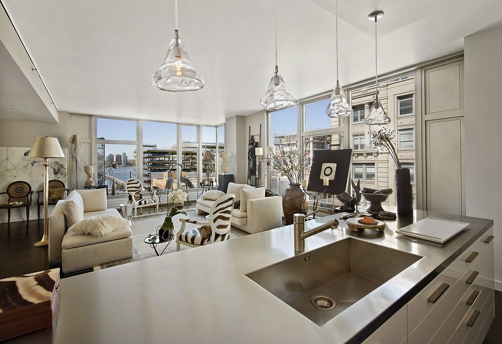 Glam New York City Apartment Fabulous And Sexy Interiors In This Condominium