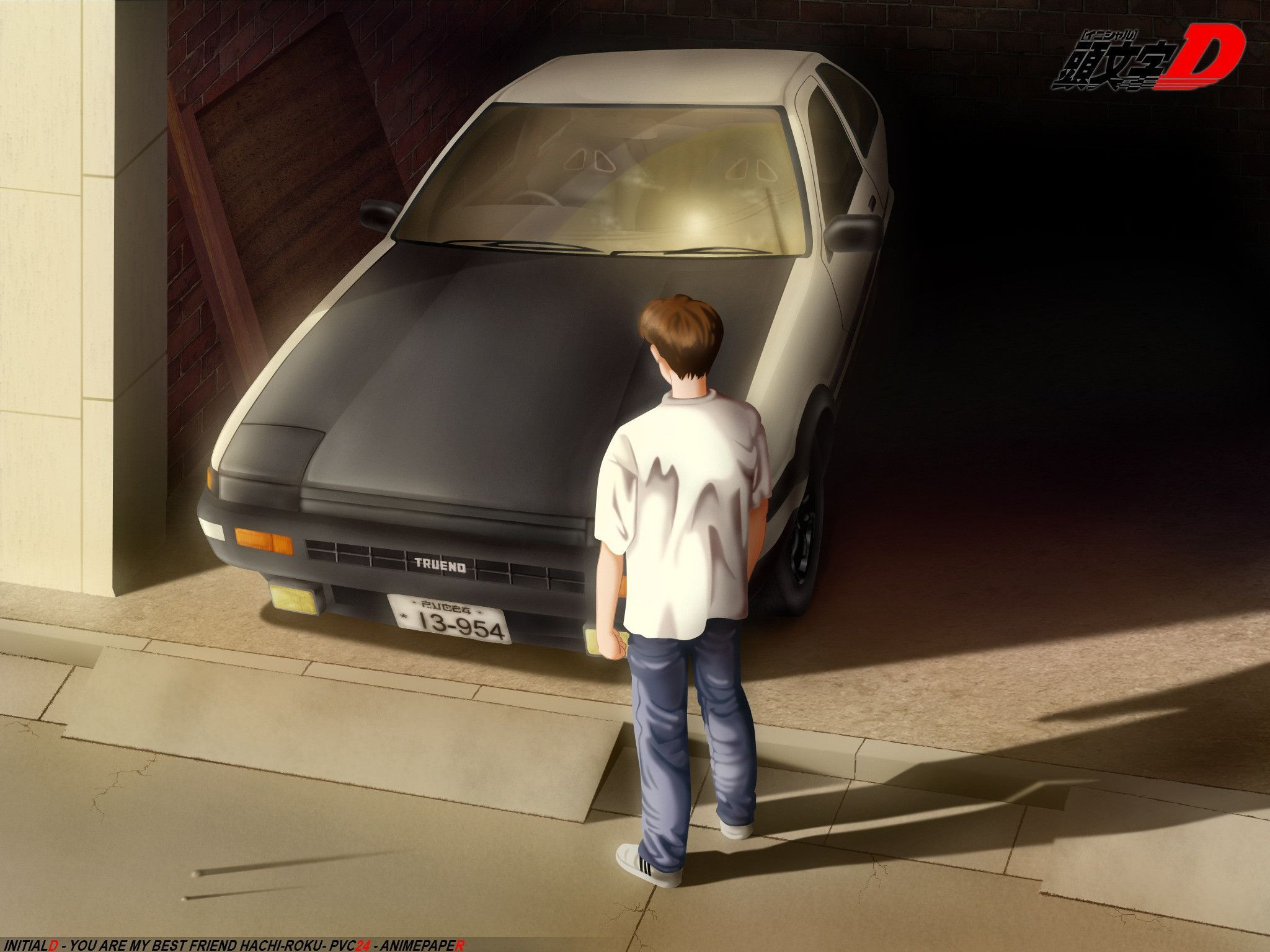 Vehicles toyota ae86 initial d wallpaper 2048x1536 - Ae86 initial d wallpaper ...