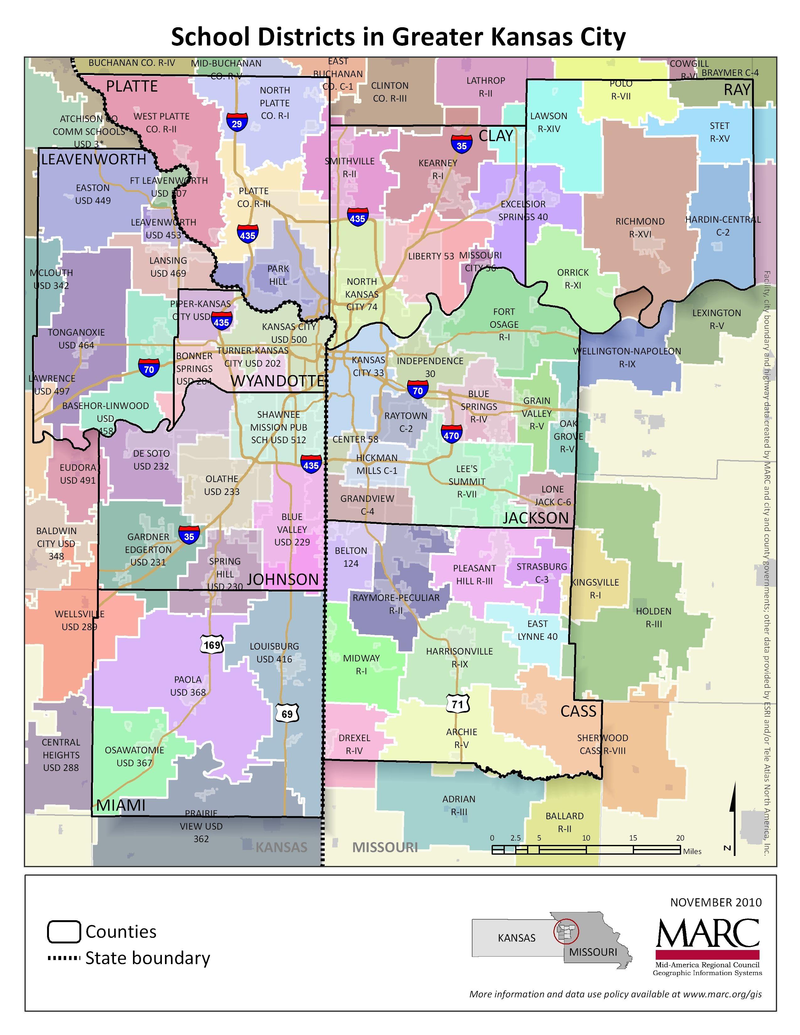 Pin by Michael Kruse on Kansas City History - Maps | Kansas map ...