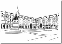 Dibujos Para Colorear De Madrid Colorear Dibujos Infantiles Plaza Mayor De Madrid Dibujos Para Colorear Mandala Para Imprimir