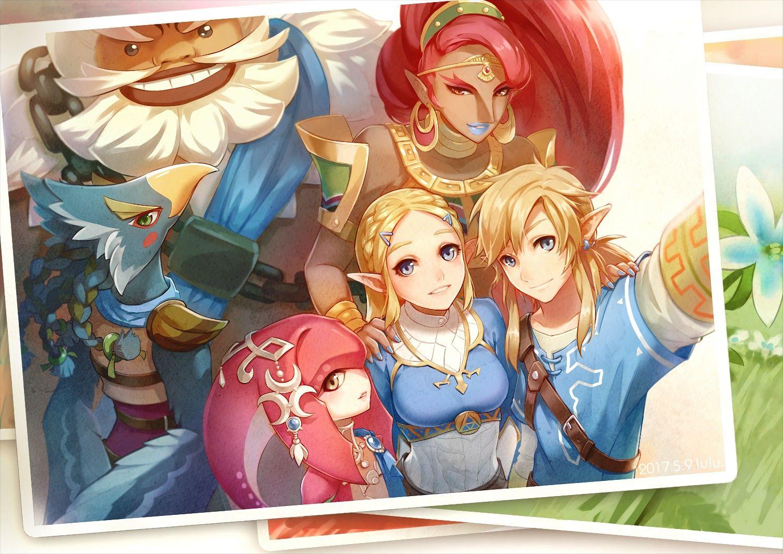 The Legend Of Zelda Breath Of The Wild Dessin Zelda Zelda La Legende De Zelda