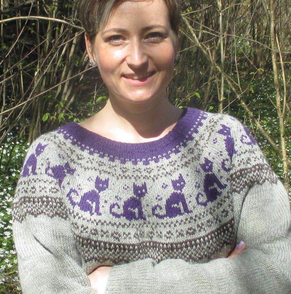 Cat Sweater Knitting pattern by Christin Klös | Cat ...