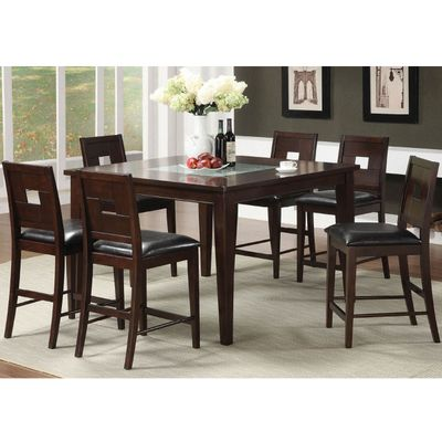 Greenvale Counter Height Dining Set by Leisure Select Counter