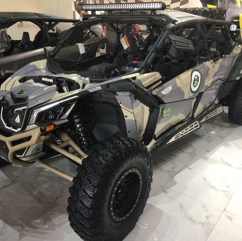 2018 Can Am Maverick X3 Max X Rs Camo Desert Tan Check Out Our Gallery For More Atv Utv And Sxs Custom Builds Featuring S3 Power S Can Am Mavericks Camo