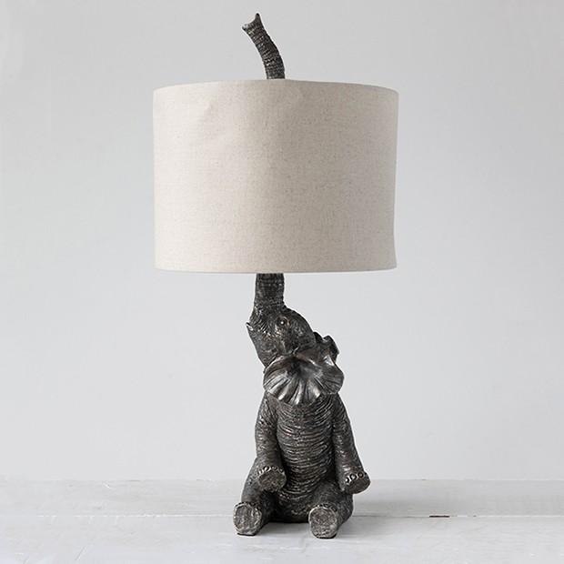 Elegant Elephant Table Lamp Elephant Table Lamp Lamp Elephant Lamp
