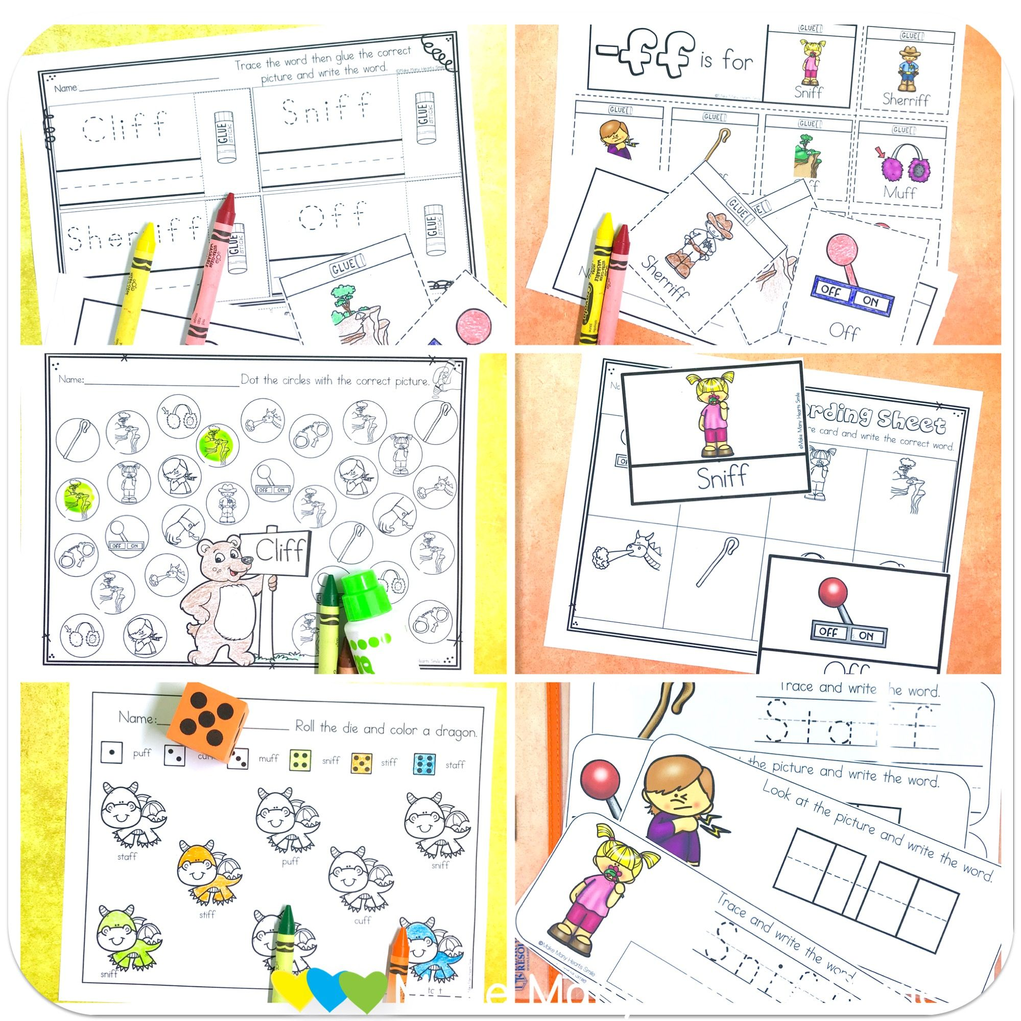 A Fun Collection Of Quick And Simple Worksheets And Easy