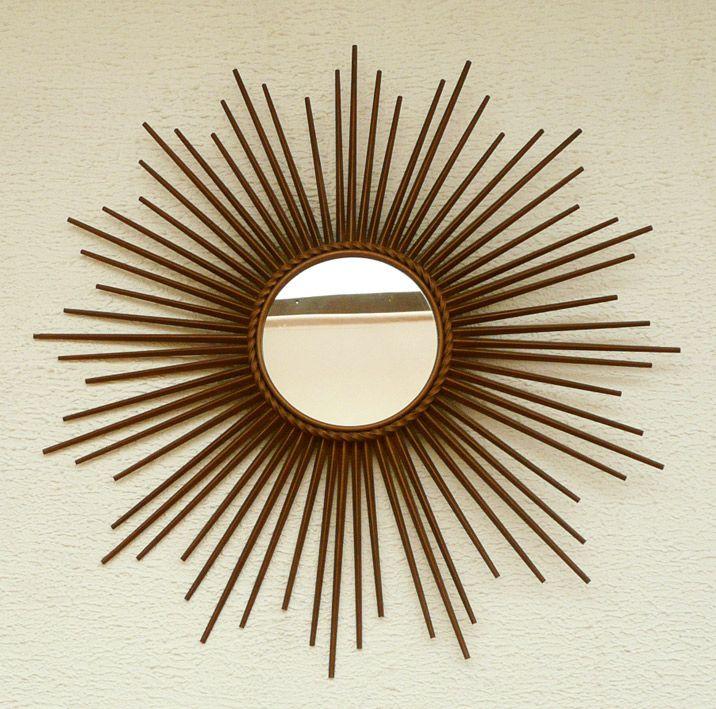 Miroir soleil ann es 70 ann es 70 pinterest miroir for Miroir annee 70
