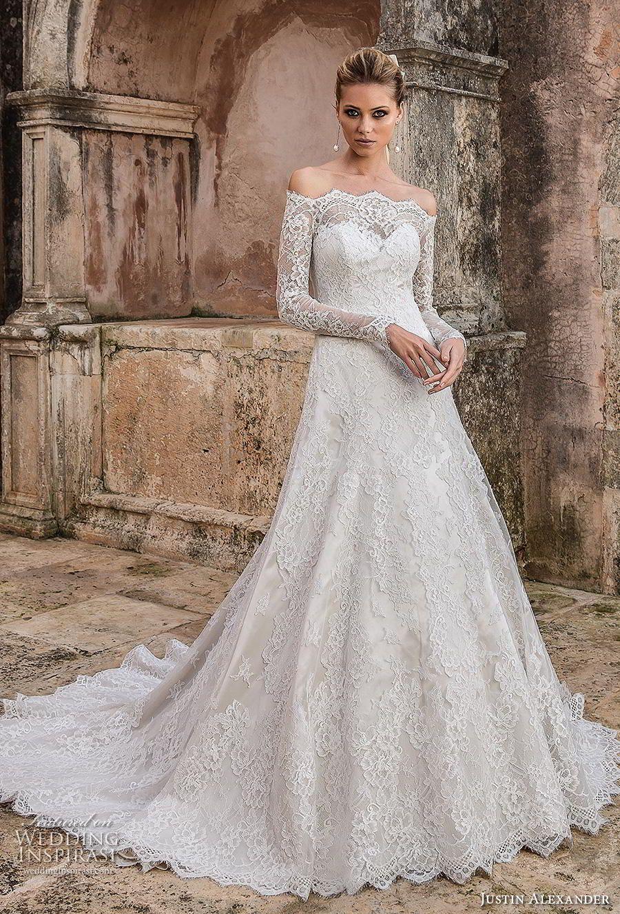 Justin Alexander Spring 2019 Wedding Dresses Wedding Inspirasi Justin Alexander Wedding Dress Wedding Dresses Lace Justin Alexander Bridal [ 1326 x 900 Pixel ]
