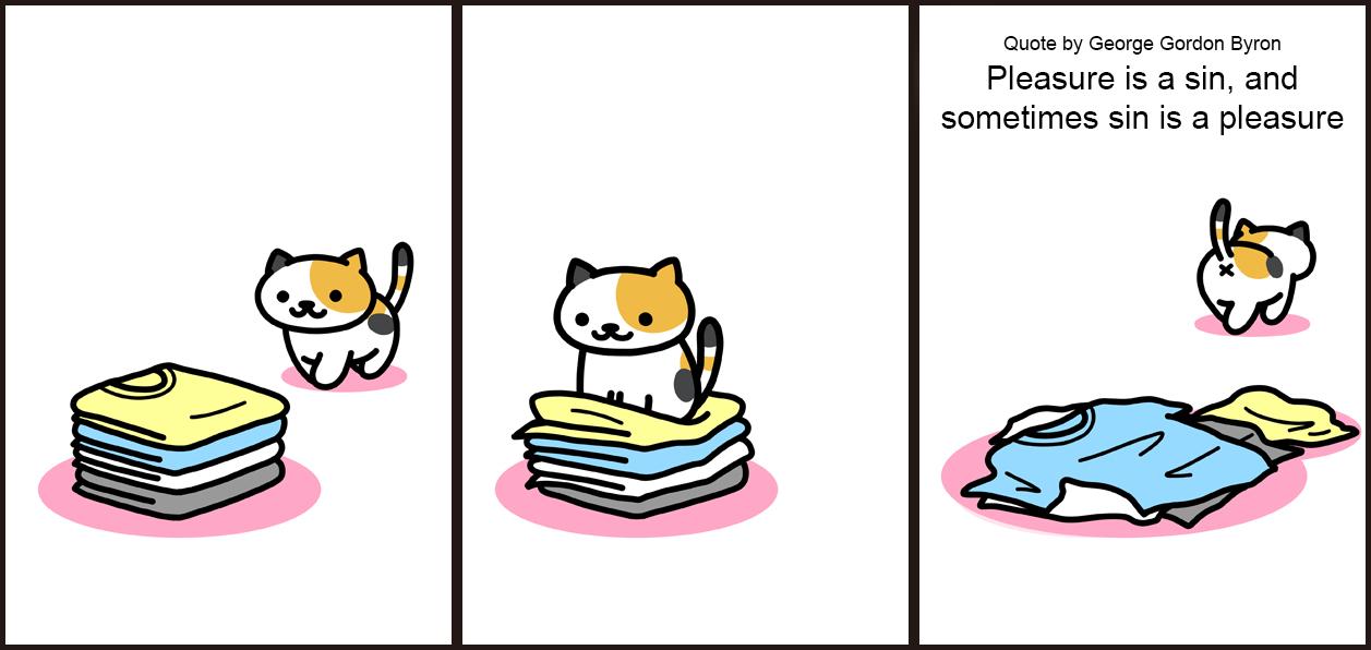 Neko Atsume Comic Neko atsume, Neko atsume kitty