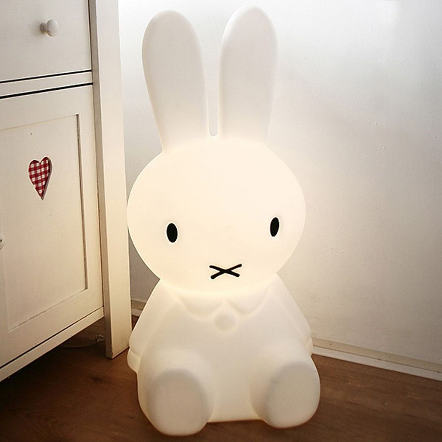 Lampe Miffy Small Miffy Lamp Bunny Lamp Miffy