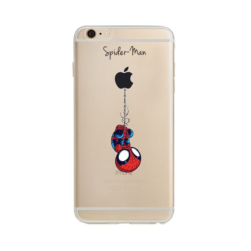 coque iphone 6 silicone comics