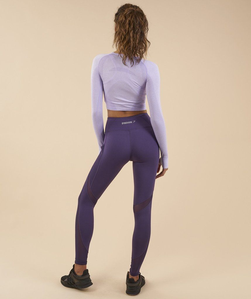 ddcd14c380c9d Gymshark Sleek Sculpture Leggings - Rich Purple | gymclothes ...