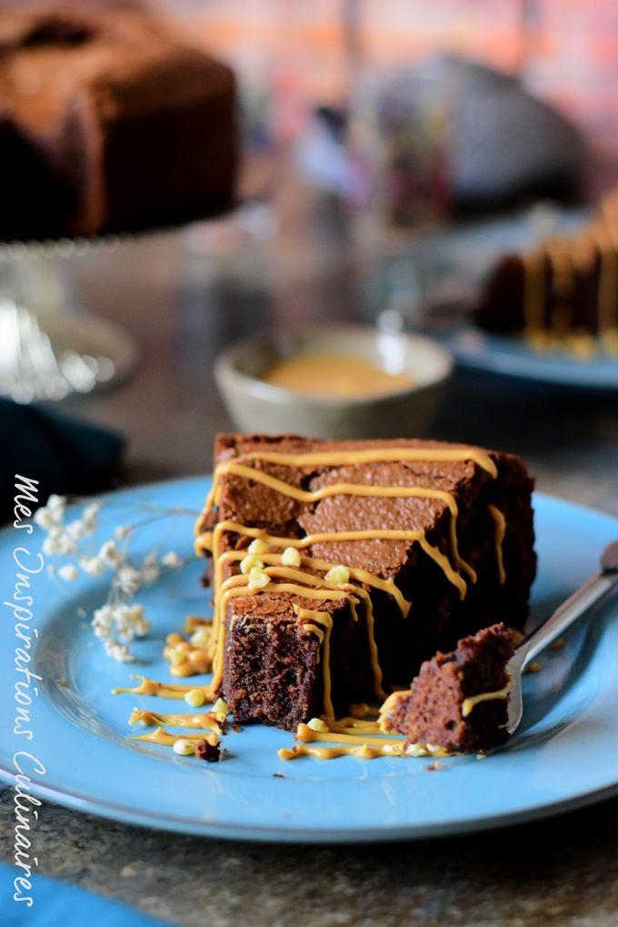 Fondant au beurre de cacahuète et chocolat | Recette ...