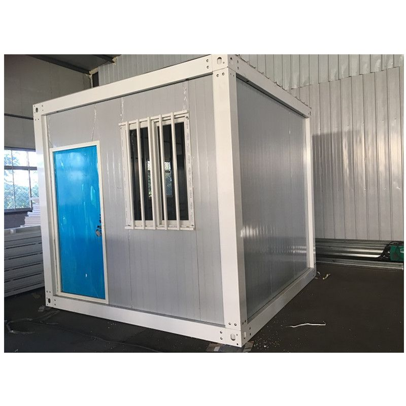 10ft Modular Iso Shipping Cabin Kiosk Container House Frames In 2020 Container House Cabin Design House