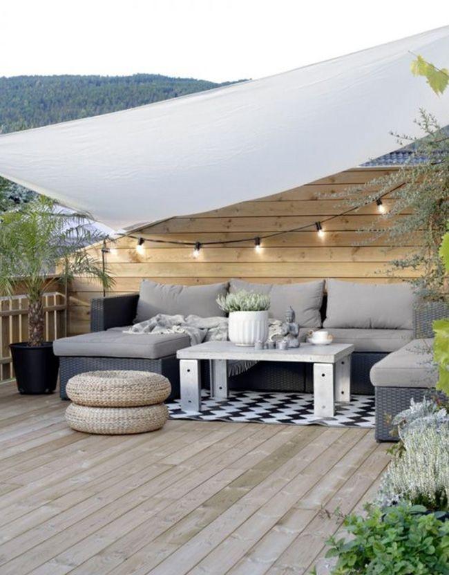 Idées d\'aménagement de terrasse | Idee amenagement terrasse ...